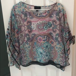 Tops - Paisley loose fitting top